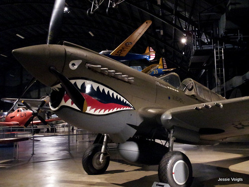 Historic Shark Fighter Plane. From A July 4 Salute to the U.S. Air Force