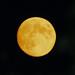 Orange Moon over Macclesfield