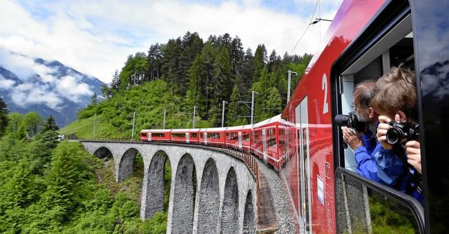 Doprava po Švýcarsku - Swiss Travel System (STS)