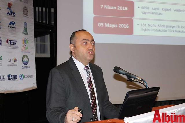 Kişisel Verileri Koruma Kurumu Daire Başkanı Mustafa Erbilli