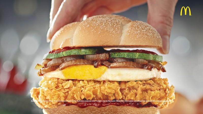 mcdonalds nasi lemak burger
