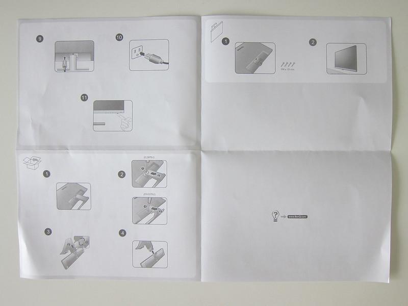 BenQ EW3270U - Instructions #1
