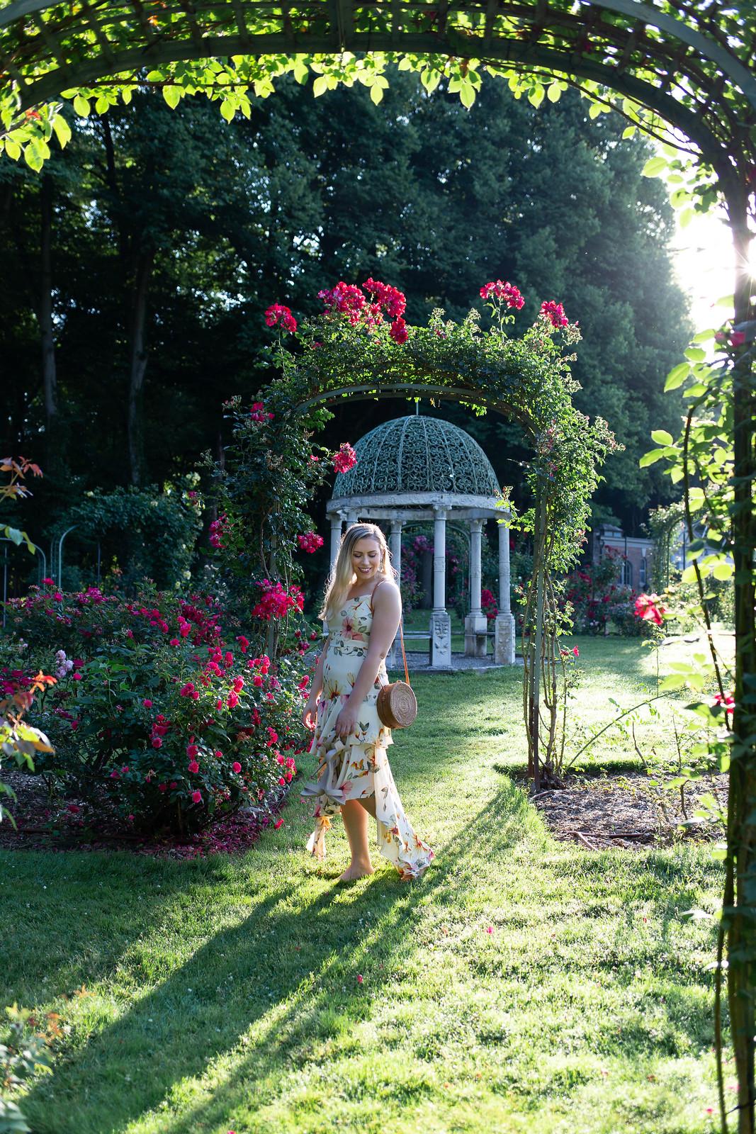 Rose Garden Lyndhurst Castle
