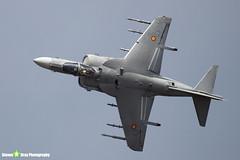 VA1B-37 - SR3 - Spanish Navy Armada - McDonnell Douglas EAV-8B Matador II+ - Farnborough 2018 180721 - Steven Gray - IMG_1691