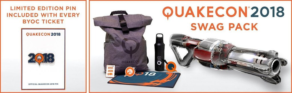 QuakeCon Swagpack