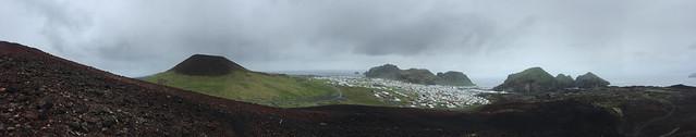 Two Volcanos, Westman Islands