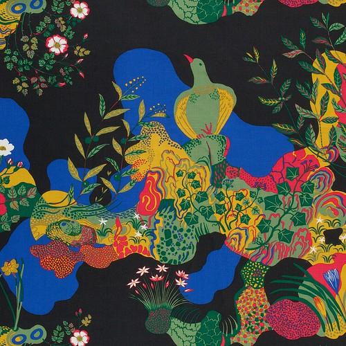 Josef Frank, Anakreon. Textile print for Svenkst Tenn, 1938 © Svenkst Tenn, Sweden.