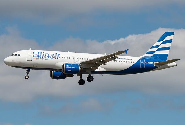 EK-32008 Ellinair Airbus A320-211