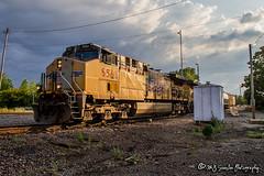 UP 5563   GE AC44CWCTE   UP Memphis Subdivision