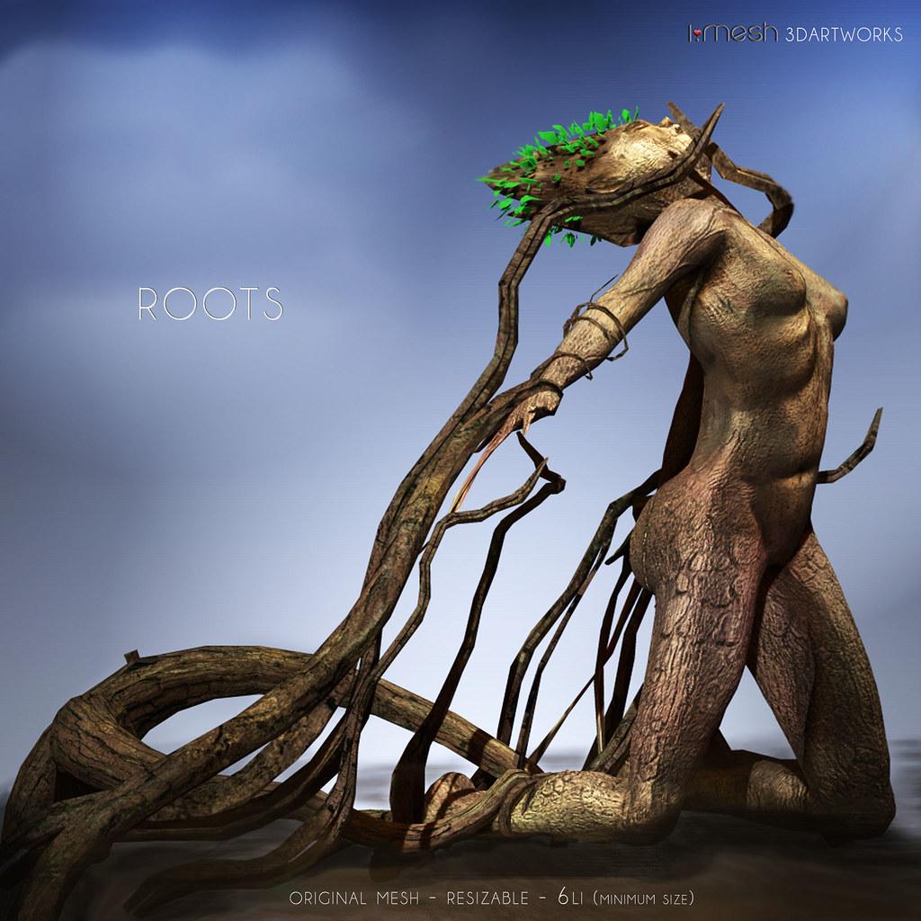 i.mesh - ROOTS statue - TeleportHub.com Live!