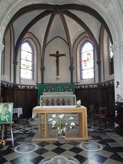Nielles-lès-Bléquin Eglise Saint Martin  le maître autel