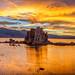 Golden Mono Lake Sunset by Jeffrey Sullivan