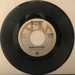 HERB ALPERT:RISE(RECORD SIDE-B)