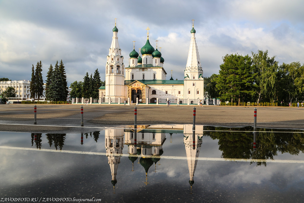 Круиз на теплоходе «Дмитрий Фурманов». Ярославль