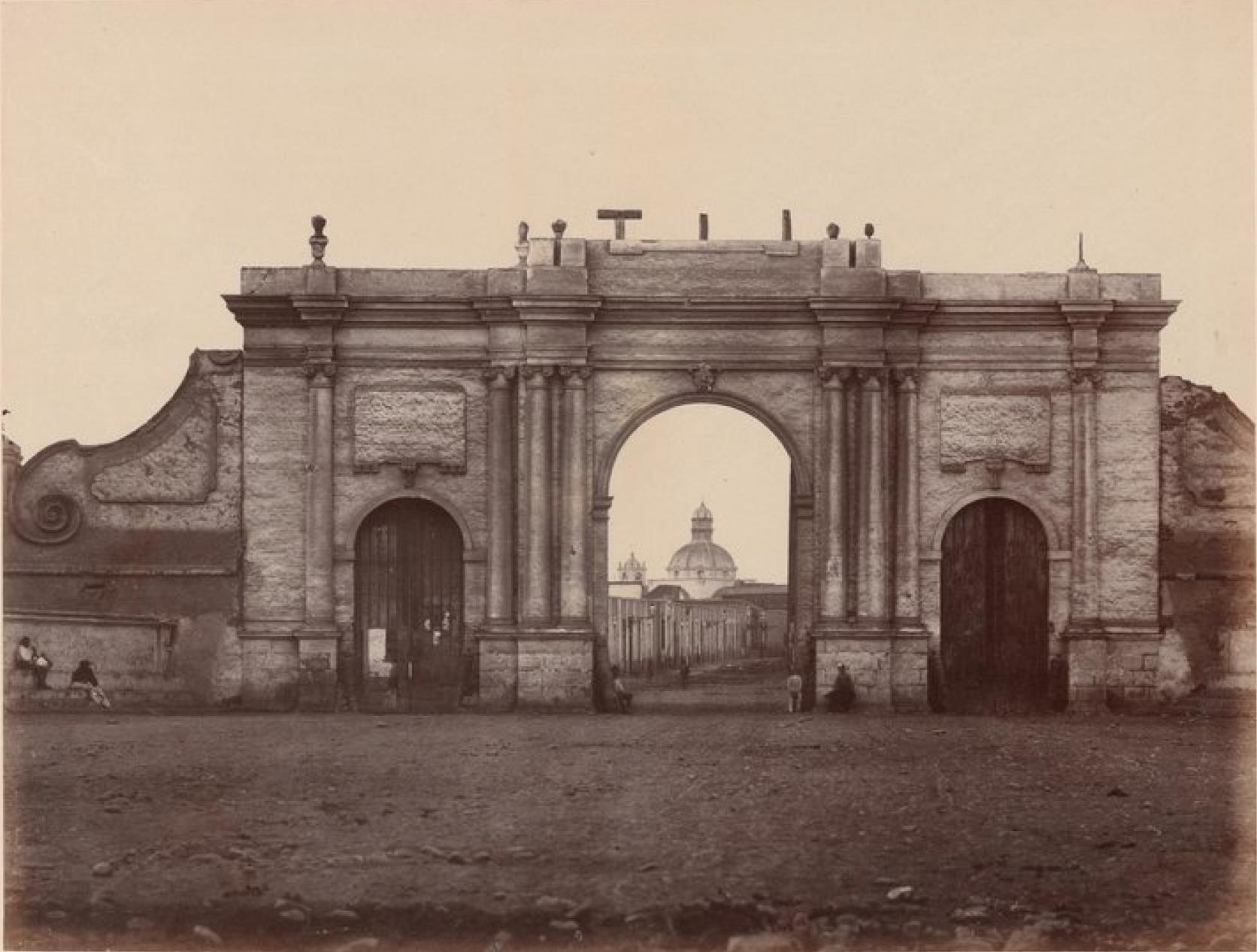 Лима. Западные ворота города