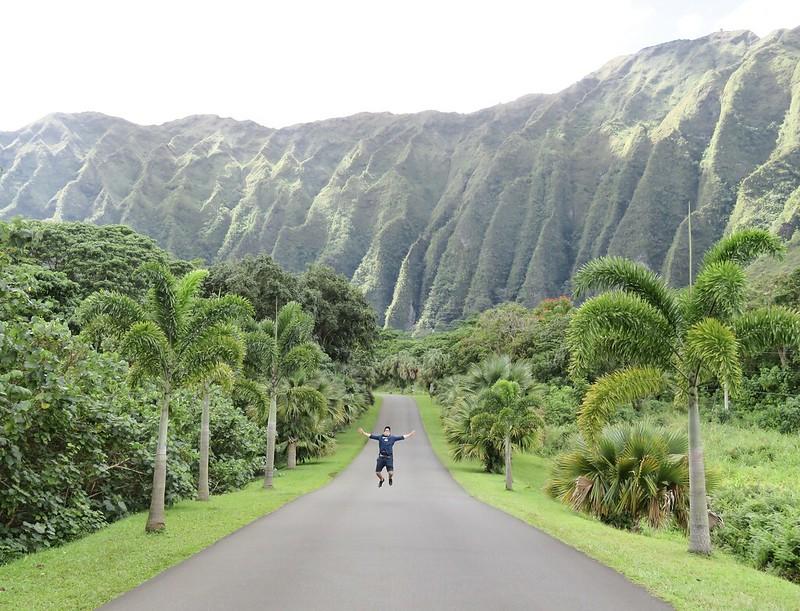 Hawaii Jardin botánico Hoomaluhia 1