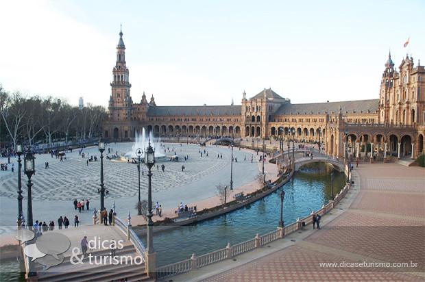 Sevilha Plaza España