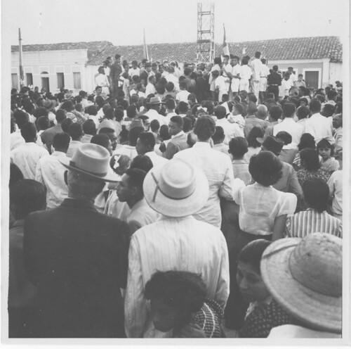 População da Bahia durante a campanha de Getúlio Vargas