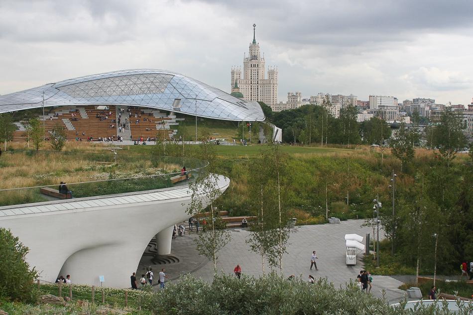 Парк Зарядье: Россия в миниатюре