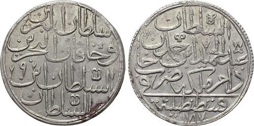 OTTOMAN EMPIRE Abdülhamid I coin