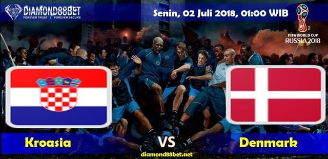 Prediksi Bola Kroasia vs Denmark , Hari Senin, 02 Juli 2018 – Piala Dunia