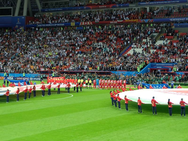 Чемпионат мира 2018 - Казань - Церемония перед матчем Иран - Испания