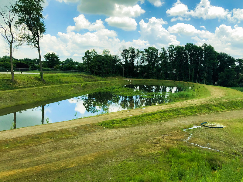 Sandmeyer Green Stormwater Basins