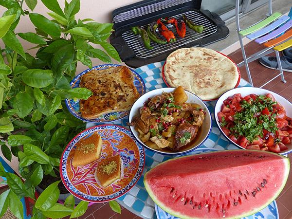 déjeuners estivaux
