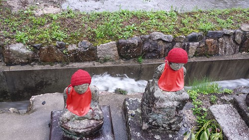 Jizo in the Rain