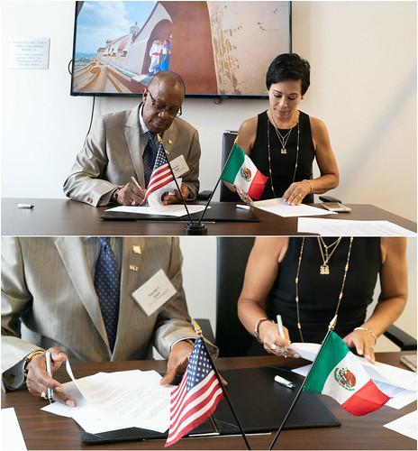 Firma Memorando de Entendimiento con Departamento de Comercio de la Ciudad de Filadelfia