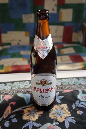 Rolinck Pilsener Premium (= typisch westfälisches Bier)