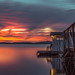 small dock house long exposure by englishgolfer