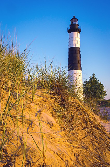Big Sable Point Lighthouse, Nikon D7000, AF Nikkor 24mm f/2.8D
