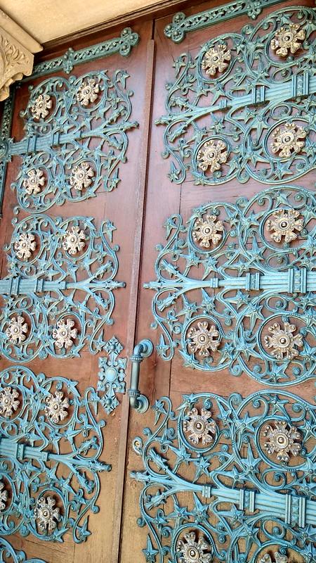 Puerta Capilla panteón