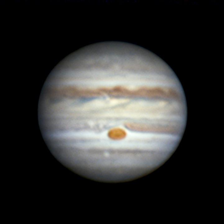 木星 (2018/7/15 20:48-20:55)(20:51, manual LRGB(Lx3, RGBx3 de-rotation))