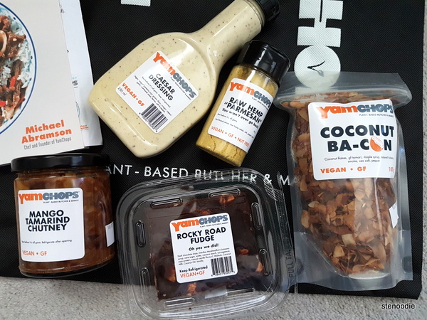 Vegan products from YamChops