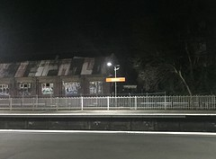 Heading home from work passing through Redfern where the old carriage workshops were