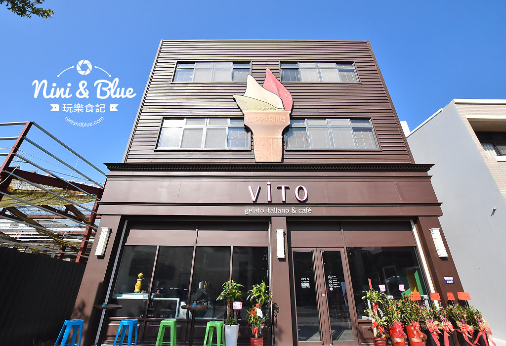 ViTO Taiwan ViTO caffe 台中 公益路 冰淇淋22