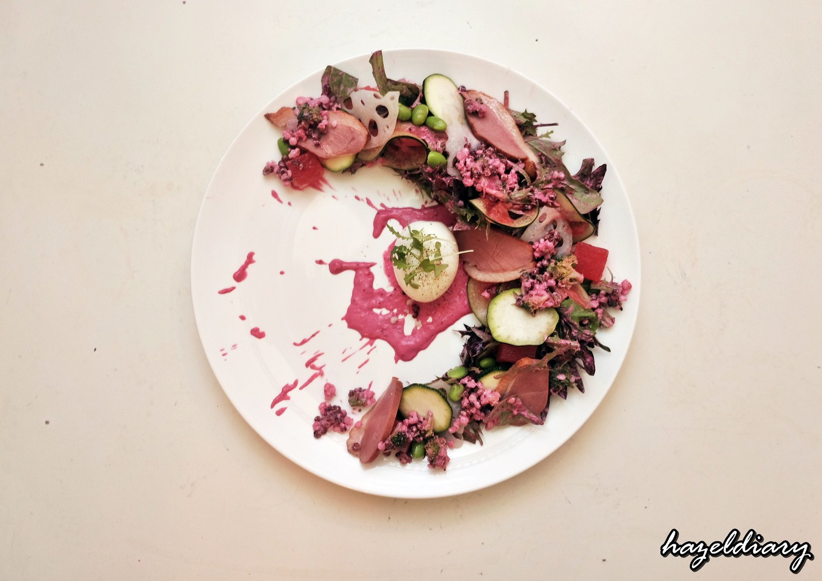 Antoinette-Watermelon & Duck Salad