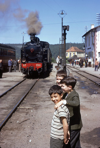 CP E132, Sernada do Vouga, Portugal, June 1969
