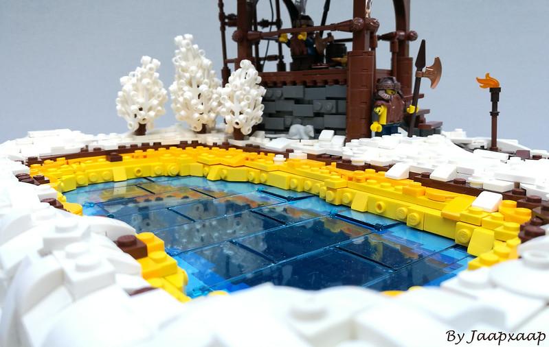 amazing lego lake moc
