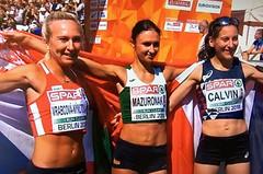 Eva Vrabcová zazářila v Berlíně, vybojovala bronz a zlepšila národní rekord