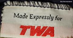 TWA Blanket Label