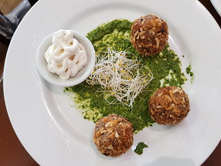 Arancini at The Green Edge