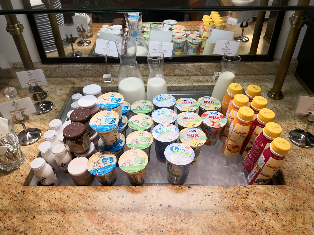 Yogurts selection