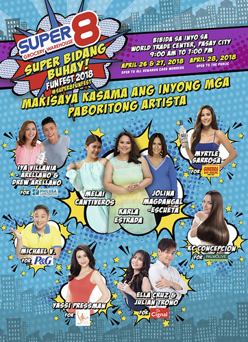Super8 Funfest 2018 Celebrities