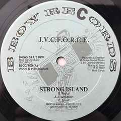 J.V.C. F.O.R.C.E.:STRONG ISLAND(LABEL SIDE-A)