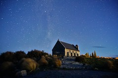 Classic subject, Church of the Good Shepherd, Lake Tekapo, New Zealand