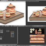 Chinese Tea Set Blender 3D
