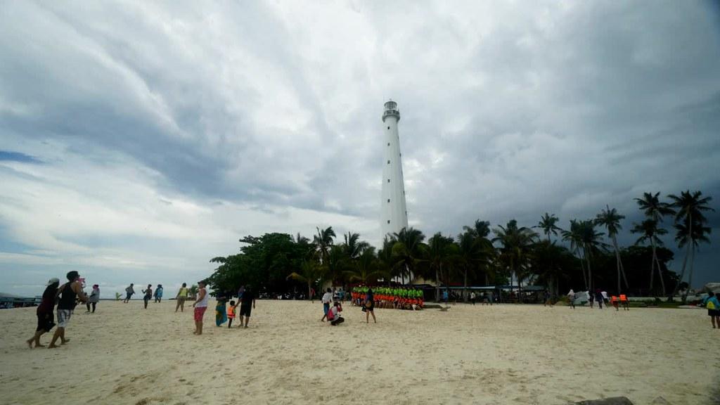 Lighthouse in Lengkuas Island, Belitung
